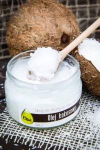 Olej kokosowy cena