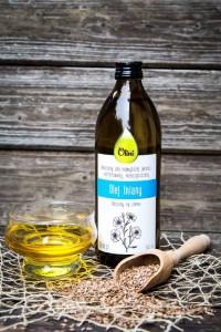 Olej lniany Budwigowy Olini