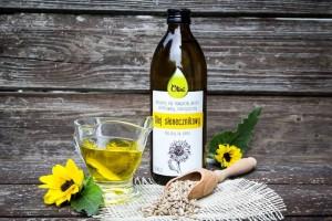 Olej słonecznikowy Olini do oczyszczania organizmu