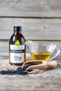 olej z czarnuszki na twarz