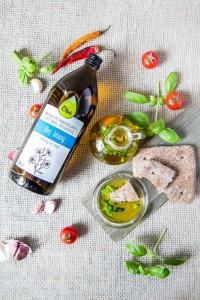 Olej lniany Olini świetny do diety Budwigowej