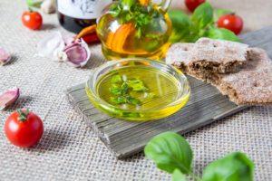 Sałatka z olejem lnianym
