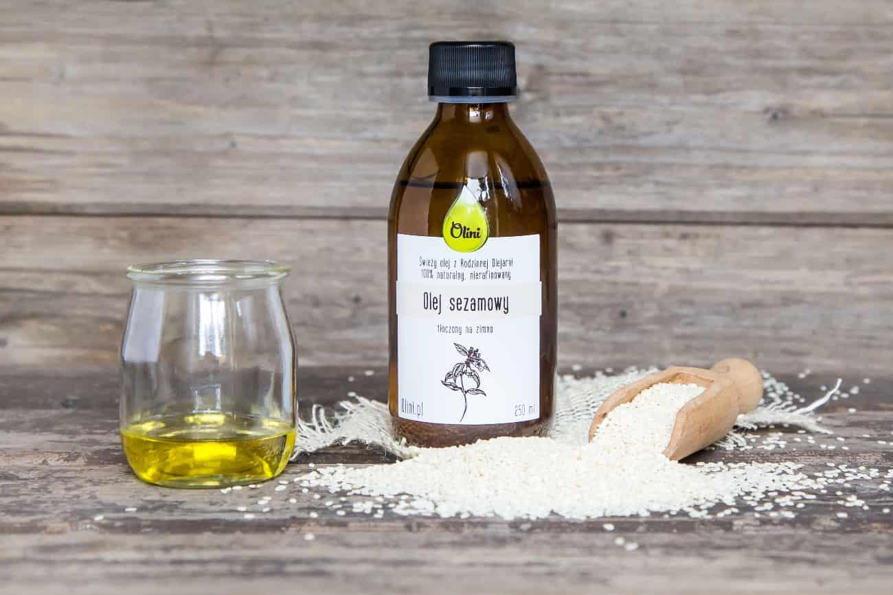 przepyszny olej sezamowy olini